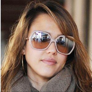 🔥Burberry🔥 oversized nude sunglasses